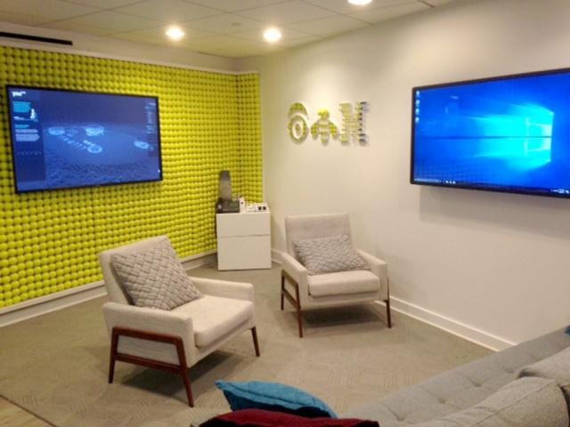 Sutton Carpet Installation for IBM US Open
