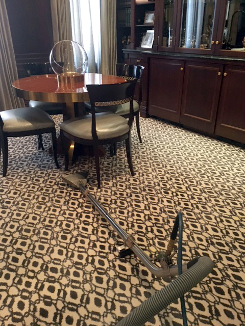 Luxury residential NYC apartment carpet cleaning by Sutton Carpet