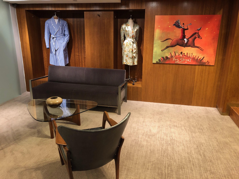 Sutton Carpet - Paul Stuart Retail Carpet Installation