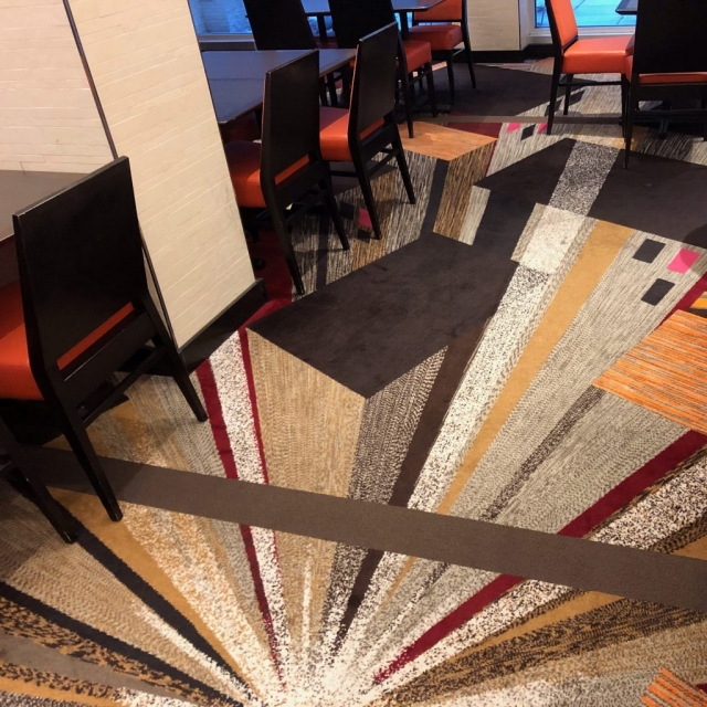 Sutton Carpet - Courtyard by Marriott Carpet Repair
